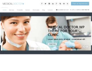 medicaldoctor.wpengine.com screenshot