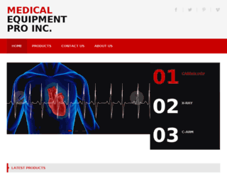 medicalequipmentpro.com screenshot