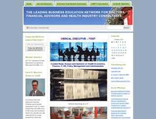 medicalexecutivepost.com screenshot
