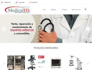 medicalhs.com screenshot
