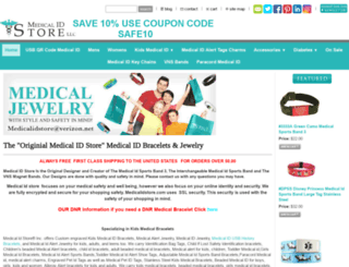 medicalidstore.com screenshot