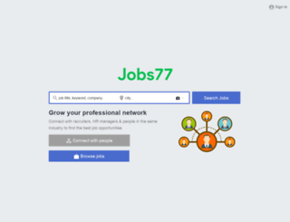 medicaljobs77.com screenshot