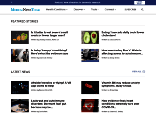 medicalnewstoday.com screenshot