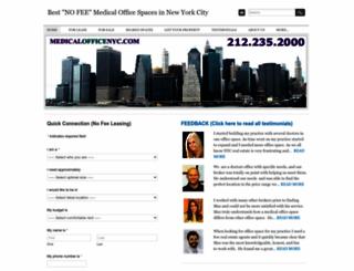 medicalofficenyc.com screenshot