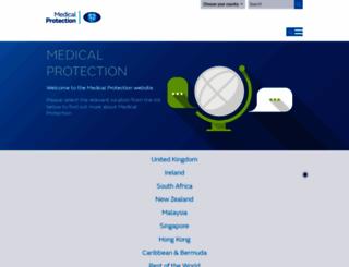 medicalprotection.org screenshot