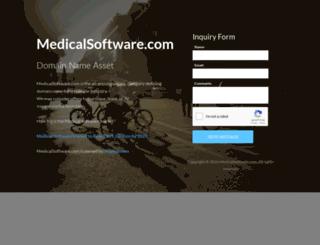 medicalsoftware.com screenshot
