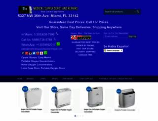 medicalsupplydepotandrepairs.com screenshot