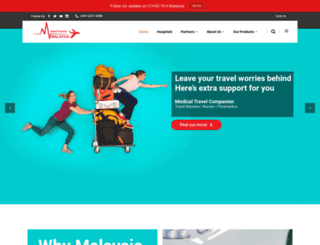 medicaltourism.com.my screenshot