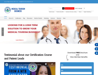 medicaltourismbusiness.com screenshot