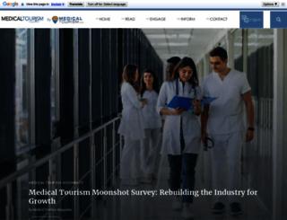 medicaltourismmag.com screenshot
