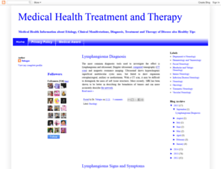 medicaltreatmenttherapy.blogspot.com screenshot
