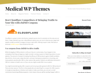 medicalwpthemes.com screenshot