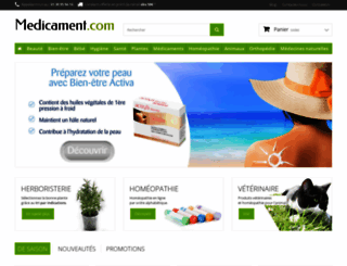medicament.com screenshot