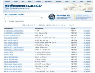 medicamentos.med.br screenshot