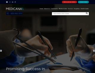 medicanainternational.com screenshot