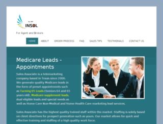 medicare-leads.com screenshot