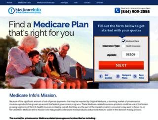 medicareinfo.org screenshot