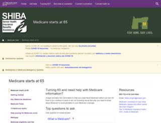 medicarestartsat65.org screenshot