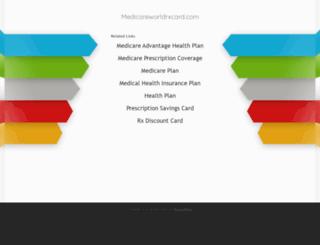 medicareworldrxcard.com screenshot