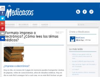 medicasos.com screenshot