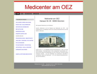 medicenter-am-oez.de screenshot
