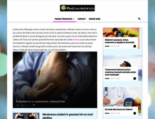 medicina-naturista.ro screenshot
