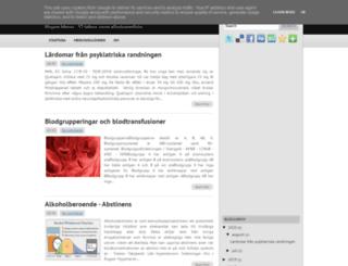 medicinanteckningar.blogspot.se screenshot