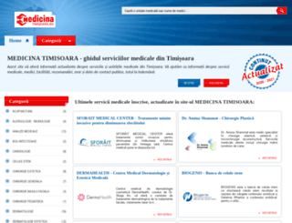 medicinatimisoara.ro screenshot