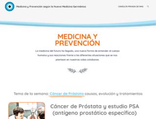 medicinayprevencion.com screenshot