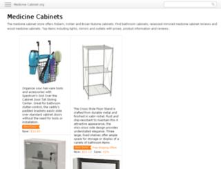 medicine-cabinet.org screenshot