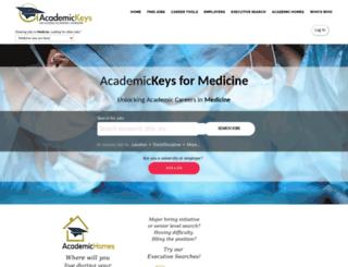 medicine.academickeys.com screenshot