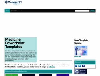 medicineppt.com screenshot
