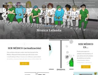 medicoacuadros.wordpress.com screenshot