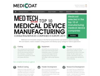 medicoat.com screenshot
