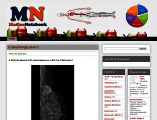 mediconotebook.com screenshot