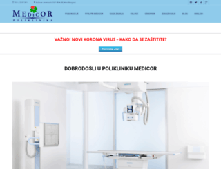 medicor.rs screenshot