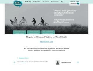medicounsel.com screenshot
