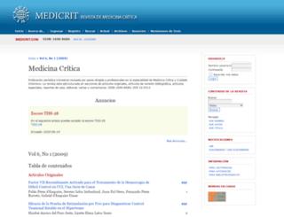 medicrit.org screenshot