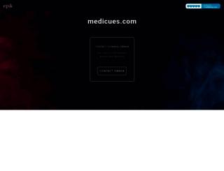 medicues.com screenshot