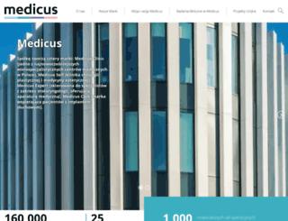medicus.wroc.pl screenshot