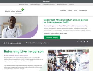 medicwestafrica.com screenshot