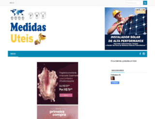 medidasuteis.blogspot.com.br screenshot