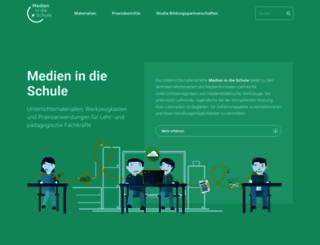 medien-in-die-schule.de screenshot