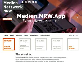 medien.nrw.de screenshot
