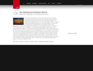 medienarchitekten-berlin.de screenshot