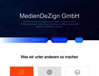 mediendezign.com screenshot