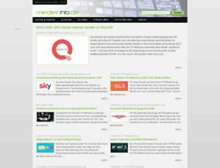 medienhb.de screenshot