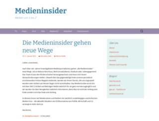 medieninsider.at screenshot