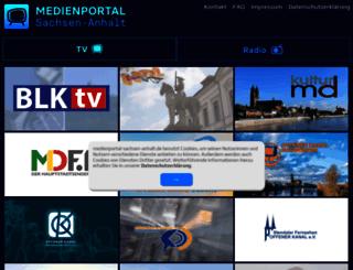 medienportal-msa.de screenshot