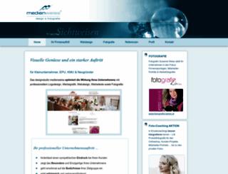 medienweiss.com screenshot